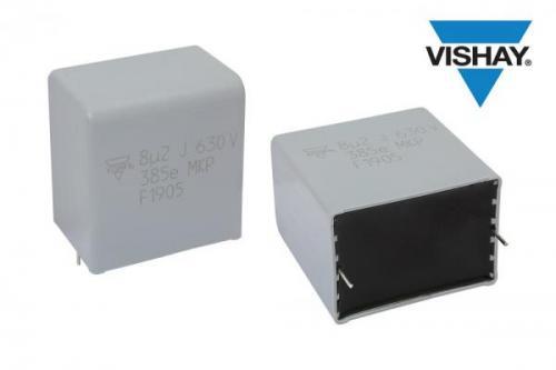 Vishay推出新款交流和脉冲薄膜电容器