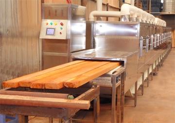 木产品微波干燥(烘干)设备