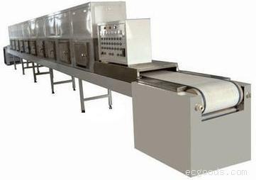 微波花生膨化焙烤设备