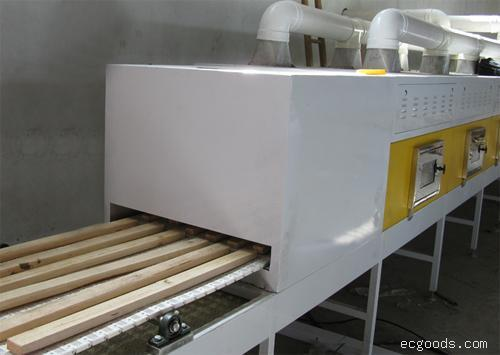木材微波隧道式连续干燥设备