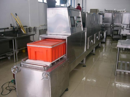 整箱盒饭微波加热杀菌设备