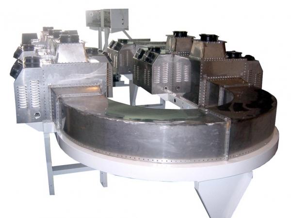 循环型隧道式微波设备