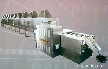隧道式微波药丸干燥杀菌设备