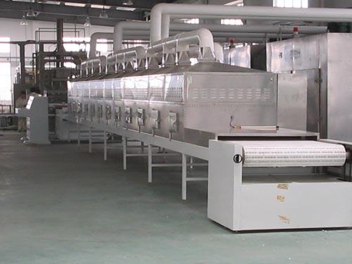 微波纸管干燥设备