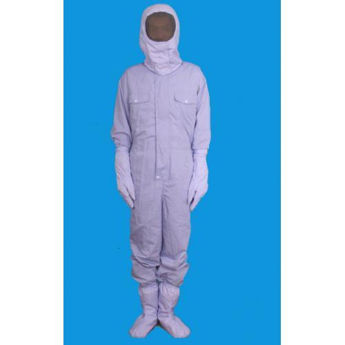 全封闭防微波辐射高频辐射防护连体服